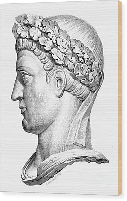 Constantine I (d. 337) Wood Print by Granger