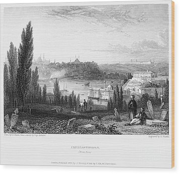 Constantinople, 1833 Wood Print by Granger