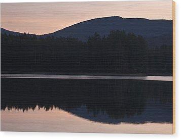 Wood Print featuring the photograph Cooper Lake Dawn by Nancy De Flon