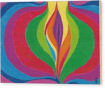 Core Wood Print by Helen Savin Thornhill