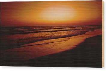 Corona Del Mar Wood Print by Mark Greenberg