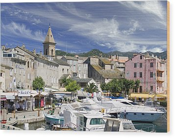 Wood Print featuring the photograph Corsica by Rod Jones
