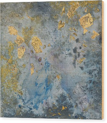 Cosmic 25 No. 2 Wood Print by Rita Bentley