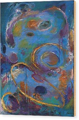 Cosmos 237 Wood Print by Johnathan Harris