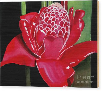 Costa Rican Beauty Wood Print