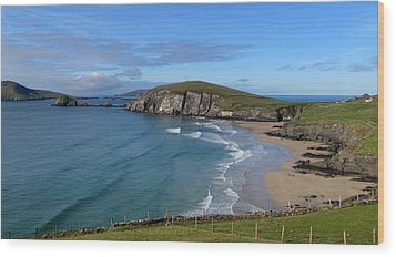 Wood Print featuring the photograph Coumeenole Beach by Barbara Walsh