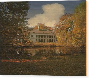 Country Estate Genbroek Wood Print by Nop Briex