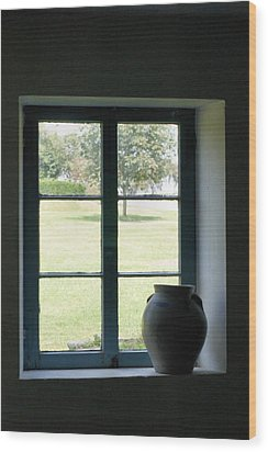 Wood Print featuring the photograph Country Window by Michelle Joseph-Long
