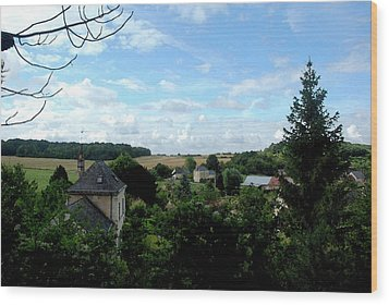 Wood Print featuring the photograph Countryside by Pravine Chester