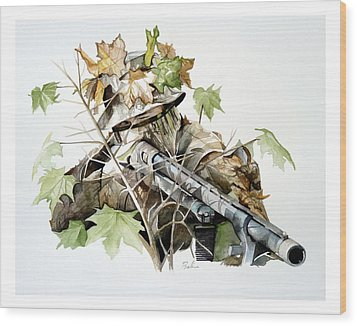 Covered And Ready Wood Print by Dana Bellis