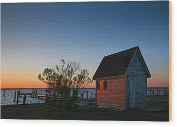 Crab Shack IIi Wood Print by Steven Ainsworth