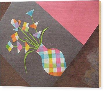 Creative Mind Unfolds  Wood Print by Sonali Gangane