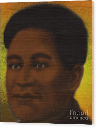Crispus Attucks, African-american War Wood Print by Photo Researchers