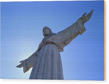 Cristo Rei Wood Print by Anonymous