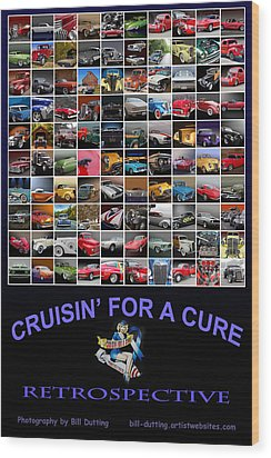 Cruisin Poster Wood Print by Bill Dutting