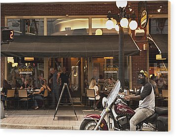 Wood Print featuring the photograph Crusin' Ybor by Steven Sparks