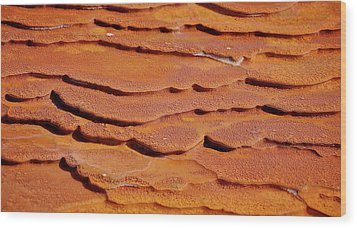 Wood Print featuring the photograph Crystal Geyser by Britt Runyon