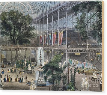 Crystal Palace Wood Print by Granger