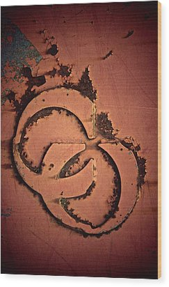 CU Wood Print by Odd Jeppesen