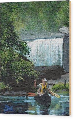 Cumberland Falls Wood Print by Bill Brown