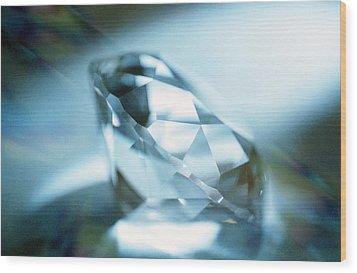 Cut Diamond Wood Print by Pasieka