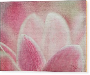 Cyclamen Wood Print by Margaret Hormann Bfa
