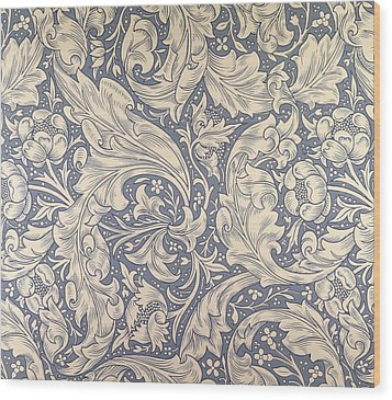 Daisy Design Wood Print by William Morris