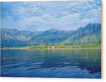 Dal Lake Wood Print by Clicked By Aalok