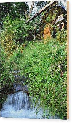 Dalby Creek Wood Print