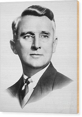 Dale Carnegie (1888-1955) Wood Print by Granger