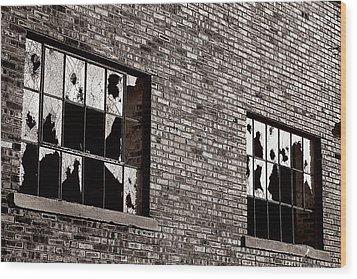 Damaged Wood Print by Scott Hovind