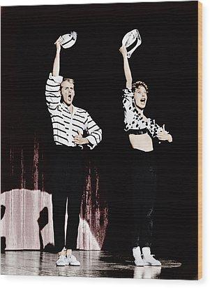 Damn Yankees, From Left Bob Fosse, Gwen Wood Print by Everett