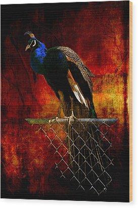 Dancer In The Dark Wood Print by Leah Moore