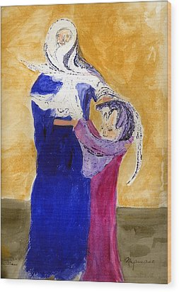 Dancing With The Stars Wood Print by MaryAnne Ardito
