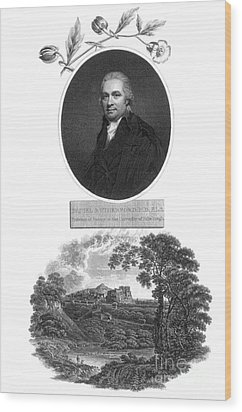 Daniel Rutherford, Scottish Chemist Wood Print by Science Source