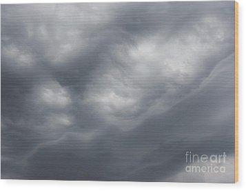 Dard Sky Before Storm Wood Print by Michal Boubin