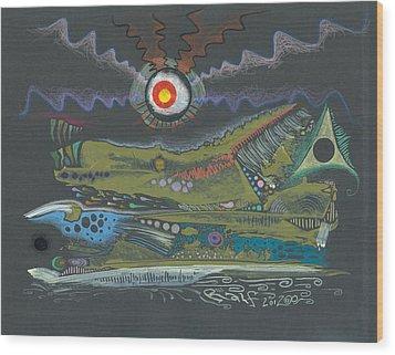 Dargonia Wood Print by Ralf Schulze
