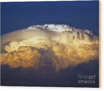 Dark Clouds - 3 Wood Print by Graham Taylor