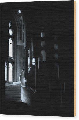 Dark Passage II Wood Print by Lynn Andrews