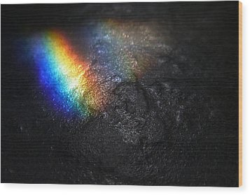 Darkside Of The Moon Wood Print by Tim Nichols