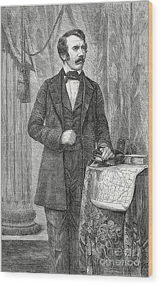 David Livingston, Scottish Missionary Wood Print by Science Source