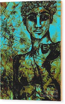 David Ll Wood Print by Amy Sorrell