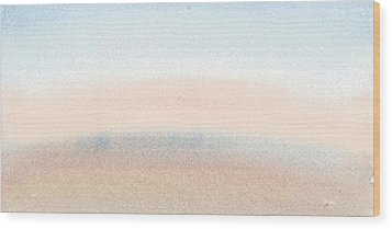 Dawn Across The Isle Of Wight Wood Print by Alan Daysh