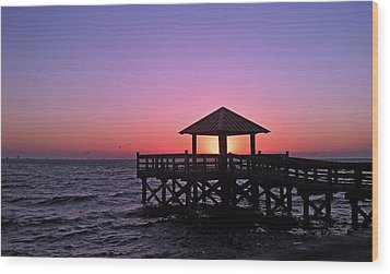Wood Print featuring the photograph Dawn by Brian Wright