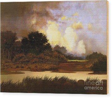Dawn Sky Wood Print by Robert Foster
