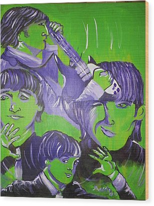 Day Tripper Wood Print by Modesto Aceves