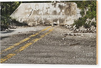 Dead End Street Wood Print by Blink Images