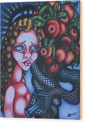 Death Wood Print by Maryska Torresowa