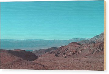 Death Valley View Wood Print
