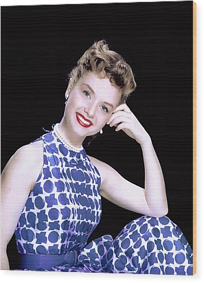 Debbie Reynolds, C. 1950s Wood Print by Everett